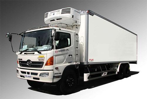 Vận chuyển và giao nhận hàng hóa bằng xe tải 15 tấn (xe 3 chân)