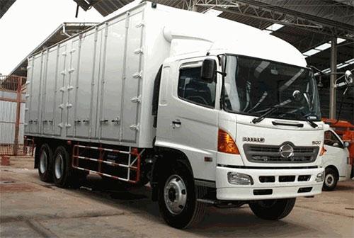 Vận chuyển và giao nhận hàng hóa bằng xe tải 8 tấn